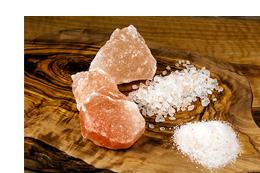 Salzprodukte-Sorten