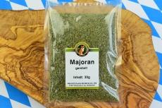 Majoran, grün, gerebelt, 30 g