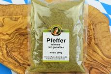 Pfeffer, schwarz, gemahlen, 250 g
