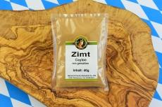 Zimt, Ceylon, rein gemahlen, 40 g