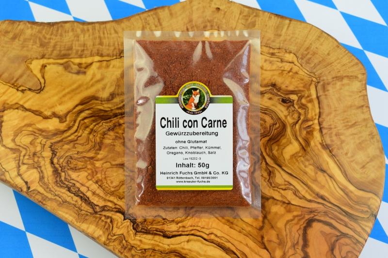 chili con carne gew rzmischung ohne glutamat 50 g. Black Bedroom Furniture Sets. Home Design Ideas